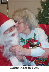 Christmas Kiss for Santa
